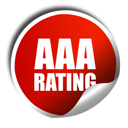 rating: aaa rating, 3D rendering, a red shiny sticker