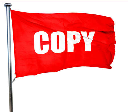 contractual: copy sign background with some soft smooth lines, 3D rendering, a red waving flag