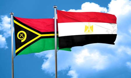 bandera de egipto: Vanatu bandera de la bandera de Egipto, 3D