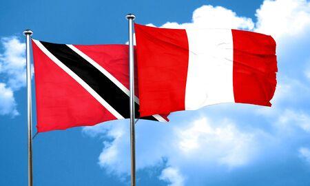 bandera de peru: Trinidad y Tobago Bandera de la bandera de Perú, 3D
