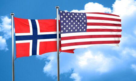 norway: norway flag, 3D rendering