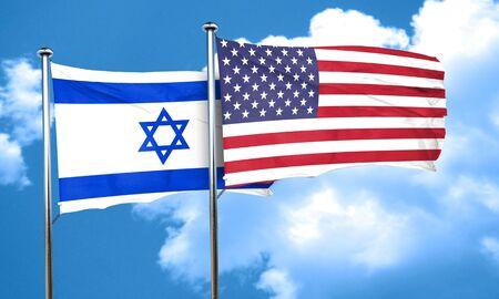 israel flag: Israel flag, 3D rendering