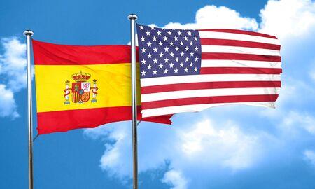 spanish flag: Spanish flag, 3D rendering Stock Photo