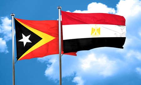 bandera egipto: bandera de timor oriental de la bandera de Egipto, 3D