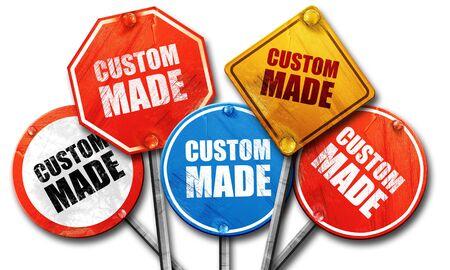 custom made: custom made, 3D rendering, street signs