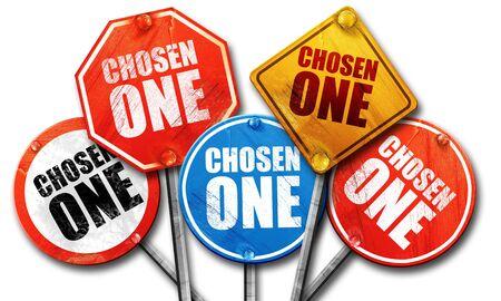 chosen one: chosen one, 3D rendering, street signs