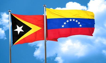 bandera de venezuela: bandera de timor oriental de la bandera de Venezuela, 3D