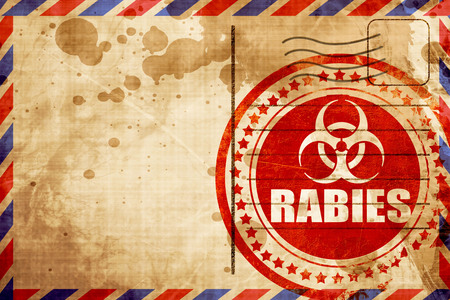rabies: Rabies virus concept background with some soft smooth lines