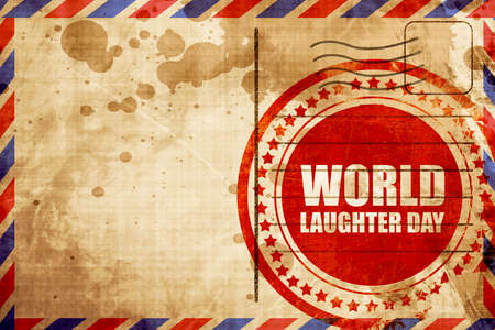 laughter: world laughter day Stock Photo
