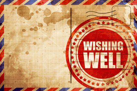 wishing: wishing well