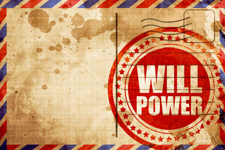 willpower: willpower