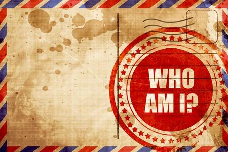 mail me: who am i?