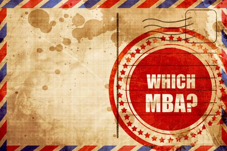 mba: which mba