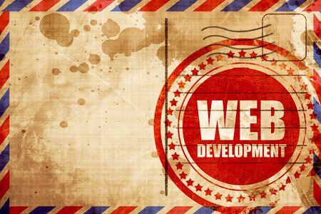 web: web development Stock Photo