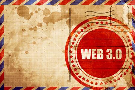 web: web 3.0 Stock Photo
