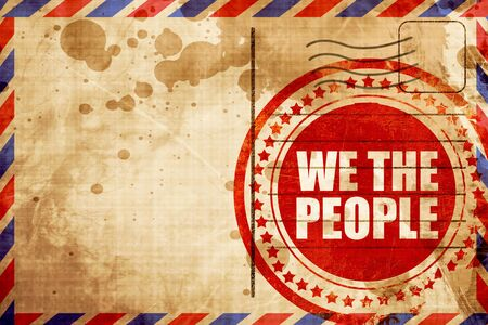 we the people: we the people