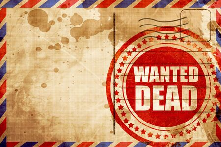 gunshot: wanted dead