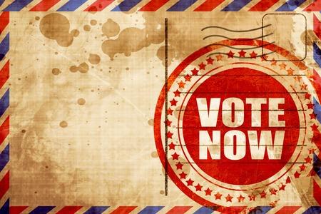 vote: vote now