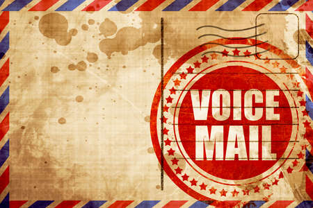 mail: voice mail