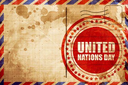 united nations: día de las Naciones Unidas  Foto de archivo