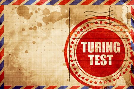 thinking machines: turing test