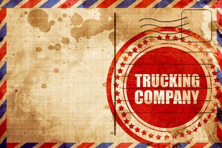 company: trucking company Stock Photo