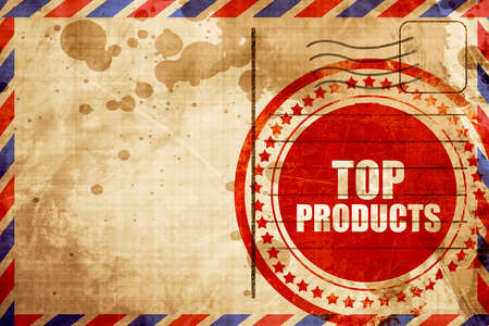 on top: top products Stock Photo