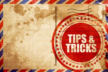 tricks: tips & tricks Stock Photo