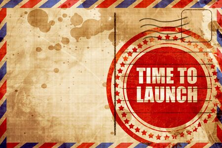 unveil: time to launch