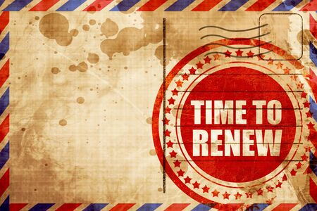 resubscribe: time to renew
