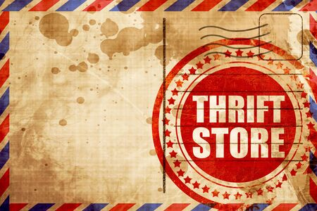 thrift: thrift store