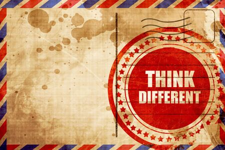 think different: think different Stock Photo