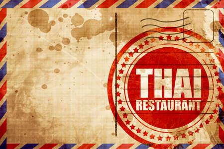 eatery: thai restaurant