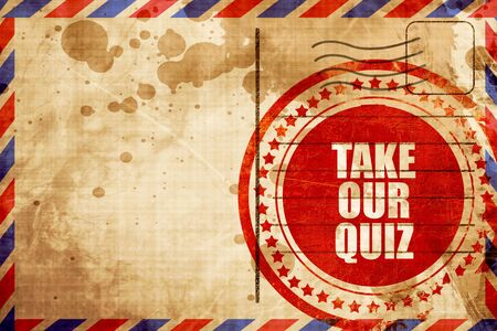 our: take our quiz