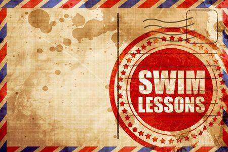 lessons: swim lessons