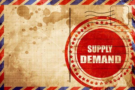 in demand: supply and demand