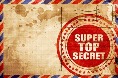 company secrets: super top secret
