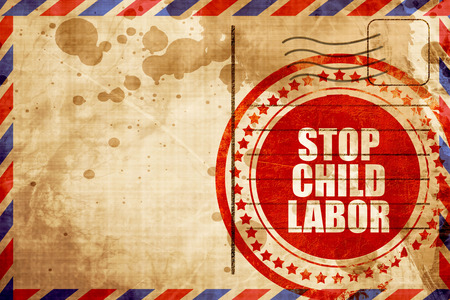 illegality: stop child labor