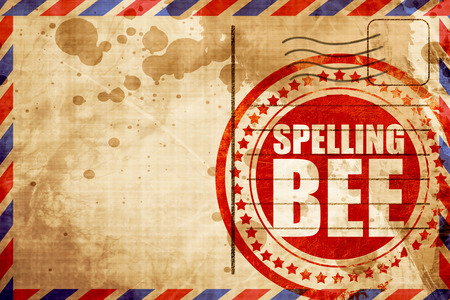 and spelling: spelling bee