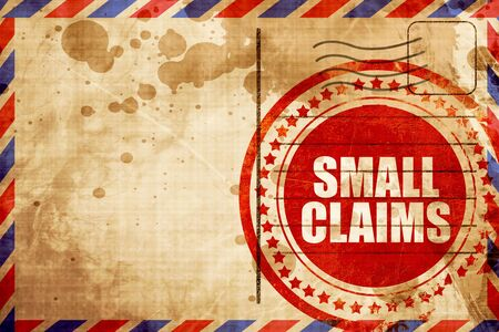 duty belt: small claims Stock Photo