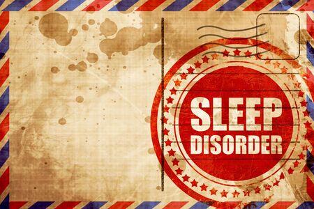 sleep disorder: sleep disorder Stock Photo