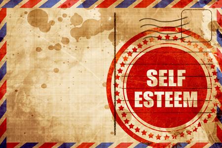 self worth: self esteem