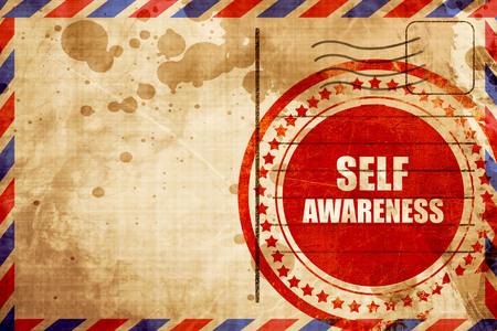 self worth: self awareness Stock Photo