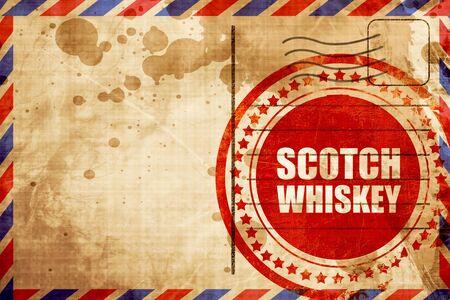 scotch: scotch whiskey