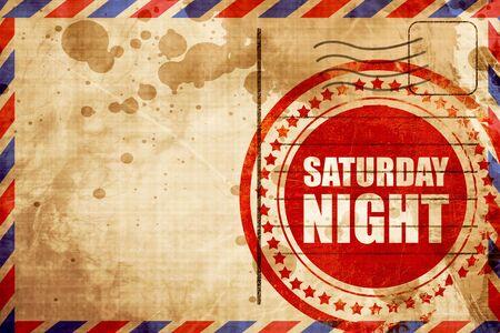 saturday: saturday night