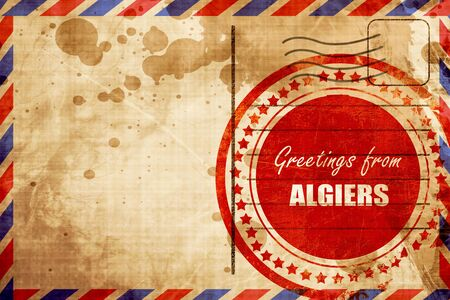 algiers: Greetings from algiers with some smooth lines