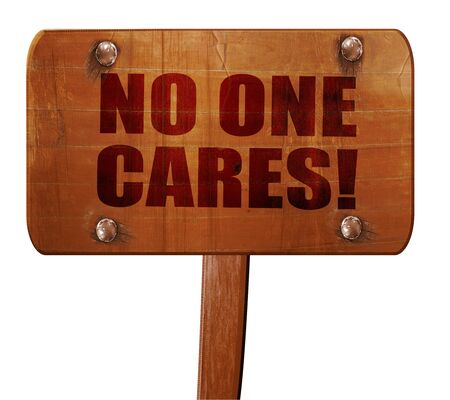 shrug: no one cares, 3D rendering, text on direction sign