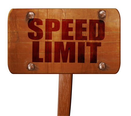 65 70: speed limit, 3D rendering, text on direction sign