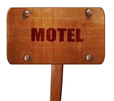 holidays vacancy: Vacancy sign for motel with some soft glowing highlights, 3D rendering, text on direction sign