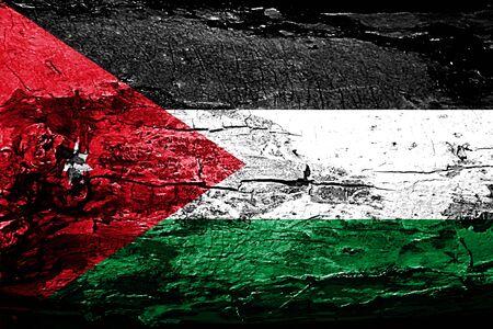 Jordan flag with grunge texture